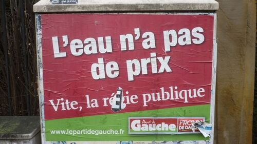Prix de l'eau à Metz