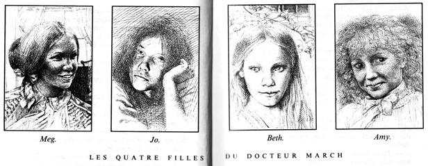 Les quatre filles