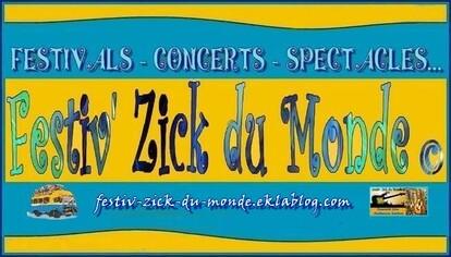 ★ Partenaires de Festiv' Zick du Monde ©