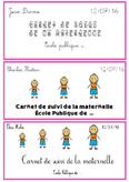 Le carnet de suivi pour les maternelles