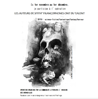 L'homme en noir - Les auteurs de SFFFH francophones ont du talent !