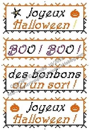 Grille gratuite ! halloween