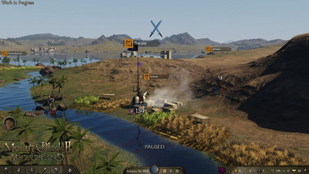 NEWS : Mount and Blade 2 : Bannerlord, logisitique*