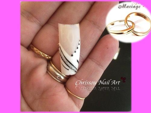 Nail Art mariage suite