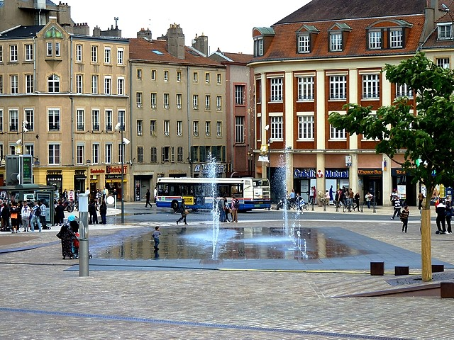 Place de la République de Metz 0 Marc de Metz 2012