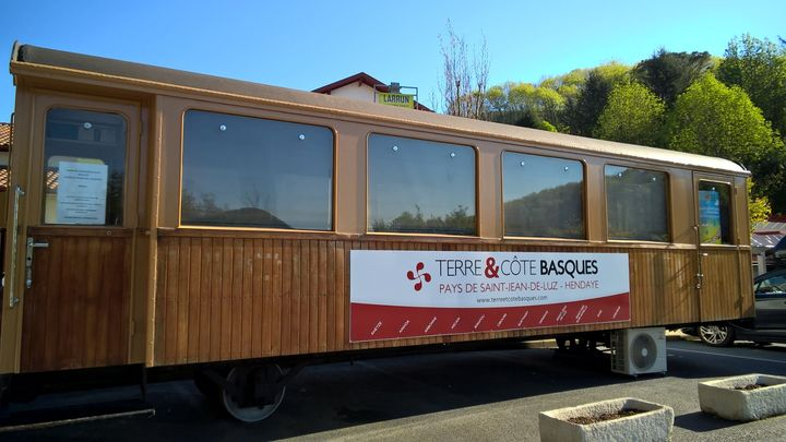 Le pays basque la Rhune en petit train.