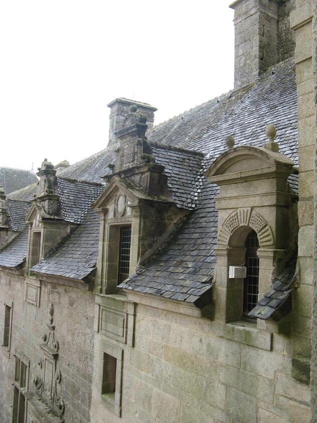 Chateau de KERJEAN (Finistère)
