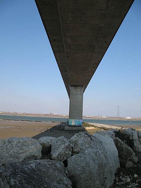 sous le pont de la seudre