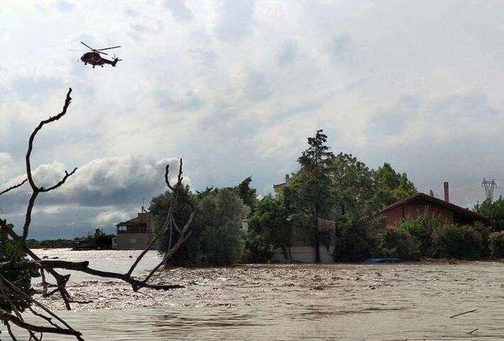 Inondations en Grèce : 5 morts, 2 disparus en Eubée, selon un nouveau bilan