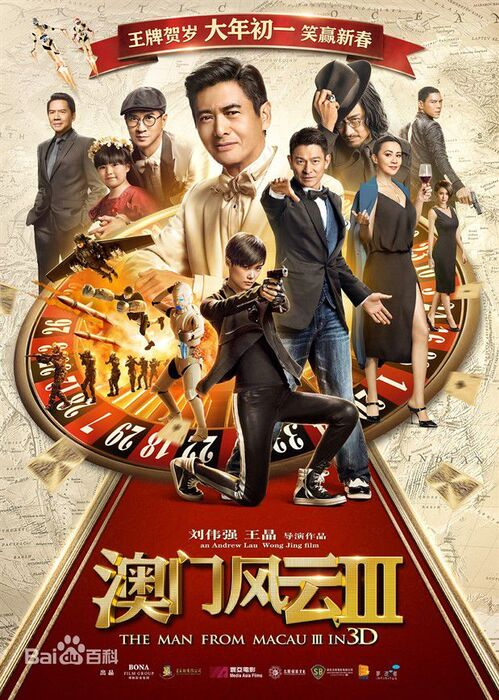 BOX OFFICE CHINE DU 8 FEVRIER 2016 AU 14 FEVRIER 2016