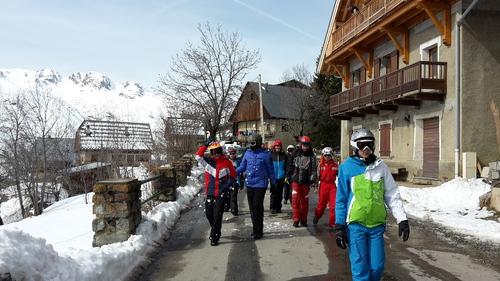 Séjour ski jeudi 9 mars