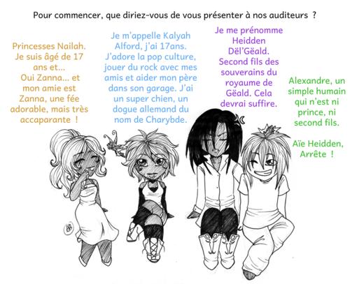 Interview de personnage : Ahïn, les chroniques de Nailah et Kalyah de Dyane et Auréline B.