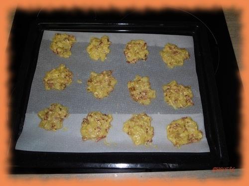 Cookies façon tartiflette