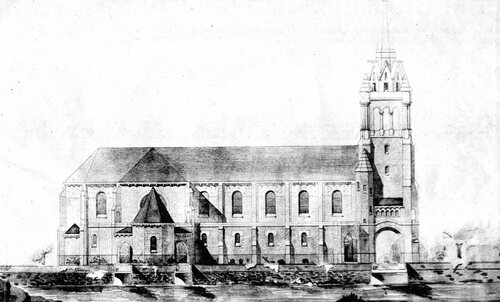 L'église Sainte Germaine ouverte au culte en 1934