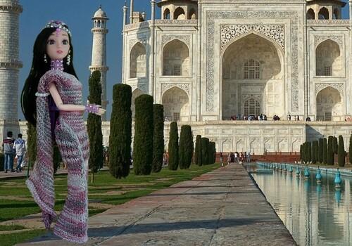 Mes Barbie Asie,Egypte et Angleterre