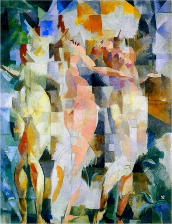 Robert Delaunay, Les Trois Grâces, 1912