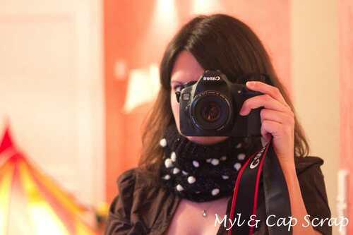Mylène - Tricot : Un snood
