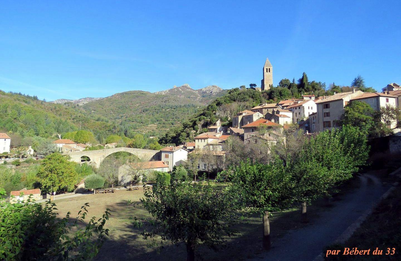 Olargues dans l'Hérault