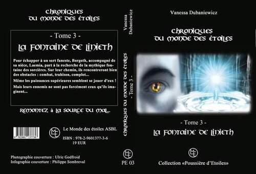 """couverture du tome 3 """"Chroniques du monde des étoiles """" sortie..... fin novembre"""