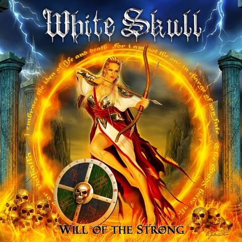WHITE SKULL - Les détails du nouvel album