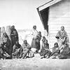 Sicangu Lakota women and children. 1868.