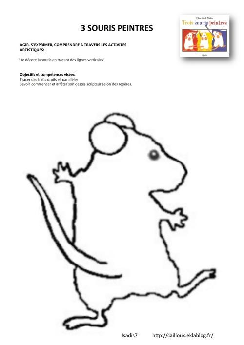 Graphisme la souris PS et MS