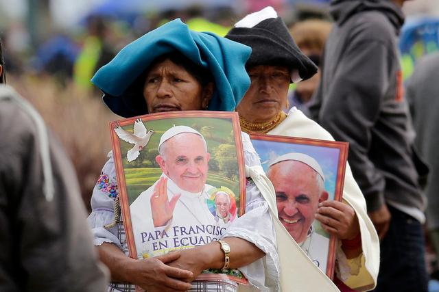 En Equateur, le pape lance un SOS pour l'environnement