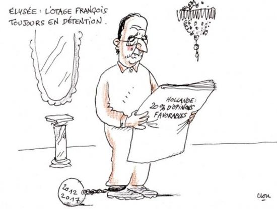 Elysée - l'otage François toujours en détention (Clou)