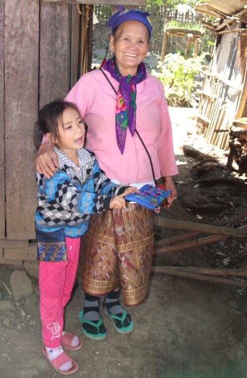 Ban Na Ouan, village Hmong près de Louang Prabang