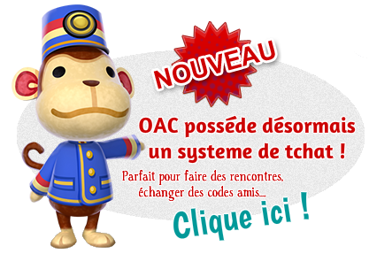 Acceuil | Animal Crossing 3DS