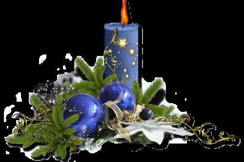 Bougies de Noël Série 6