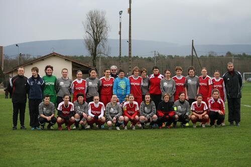 Football Féminin Equipe de D2 NIVOLAS VERMELLE