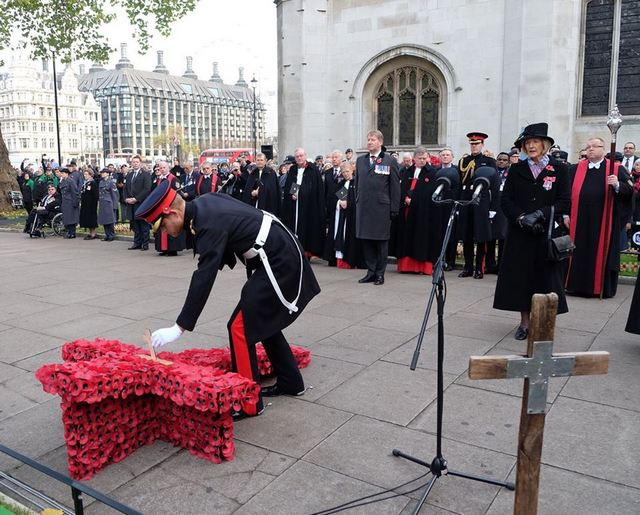 Field of Remembrance at Westminster Abbey
