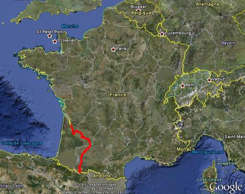 De Bordeaux à Gavarnie...