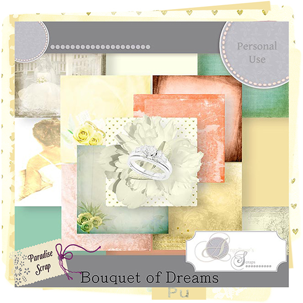 Bouquet of dreams de Angelique's Scrap
