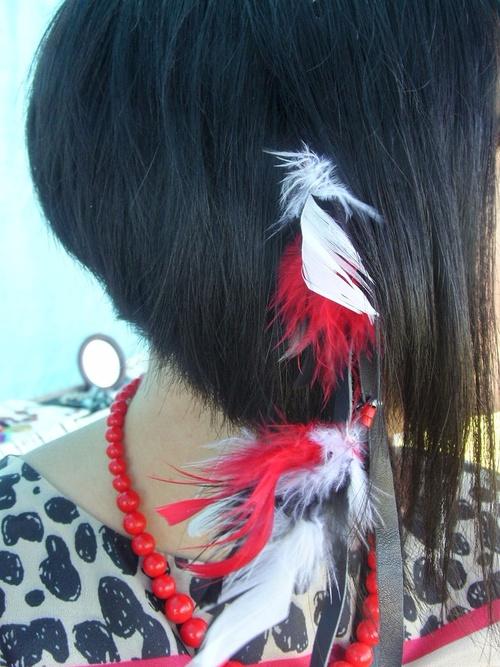 accessoire de cheveux country