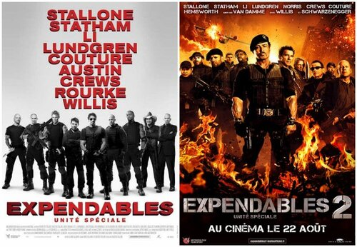 "Bonsoir, a l'honneur : ""The expendables"""