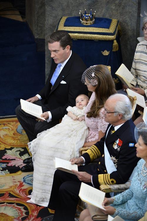 Baptême de Léonor de Suède