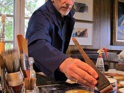 Tony Smibert, peintre australien