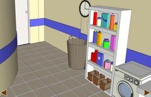 Laundry room escape