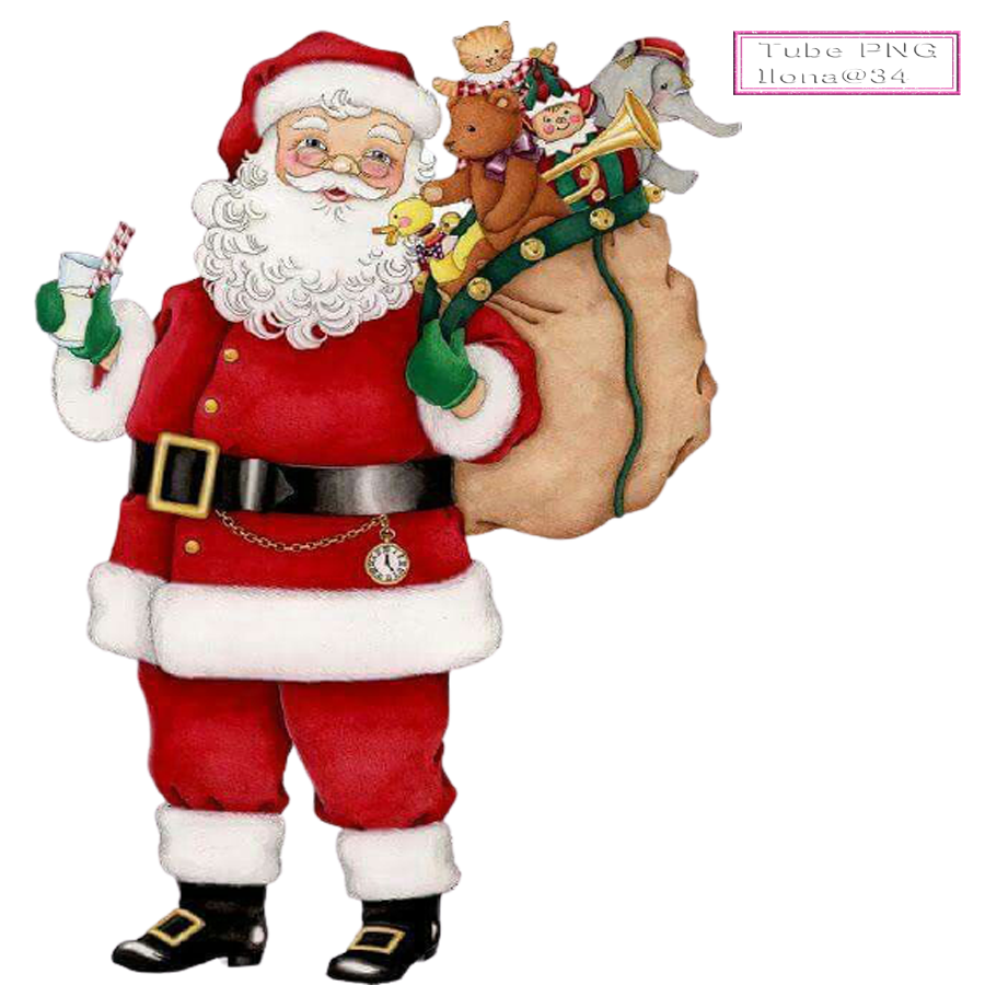 Tubes Père Noël,