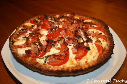 Tarte tomate - mozzarella