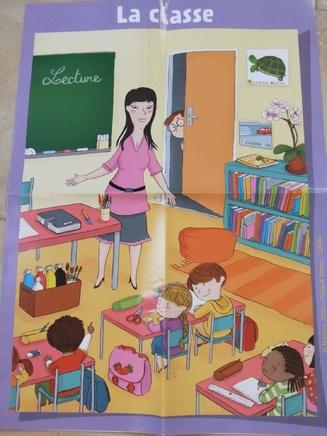 Le thème de l'école et de la classe