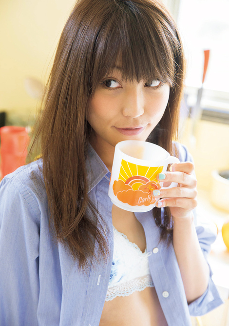 WEB Magazine : ( [Young Magazine Gravure Net] - Young Magazine - 2013 / N°25 - Rima Nishizaki, Yuka Nanjo & Manami Marutaka )