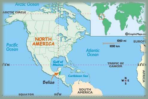 Carte Amerique Du Sud Belize.Creole De Belize Des Mots Et Des Langues