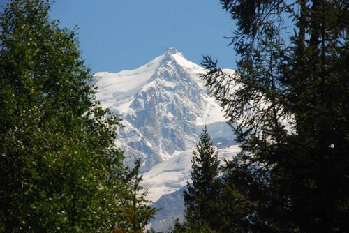 Vue sur le Massif du Mont Blanc