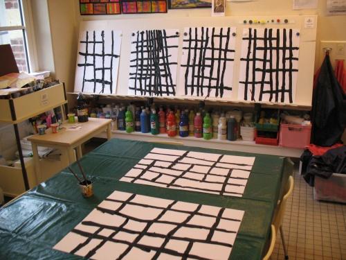 D'art d'art ! la maternelle transformée en galerie !