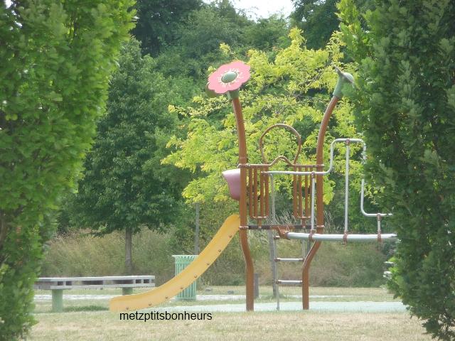 Au Parc de la Seille....