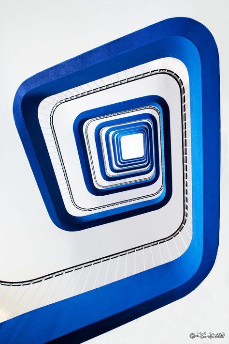 La spirale bleue