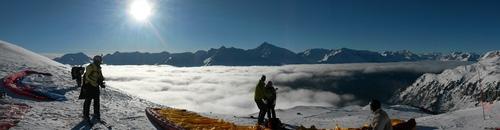 Vols et ski à Aussois